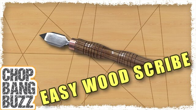 CBB Quickie: Easy DIY Wood Scribe
