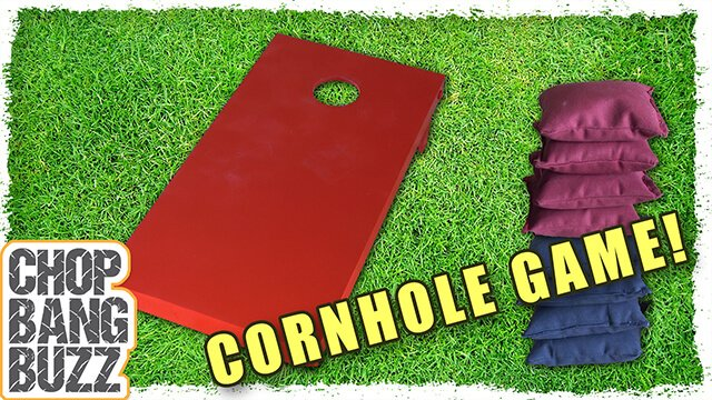 How to make a cornhole game set