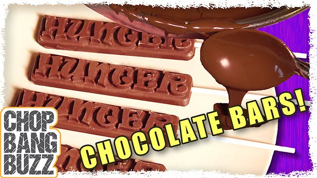How to Make Custom Chocolate Bar Molds